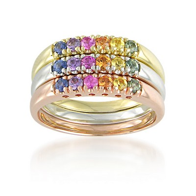 Rainbow Sapphire Collection - R1097