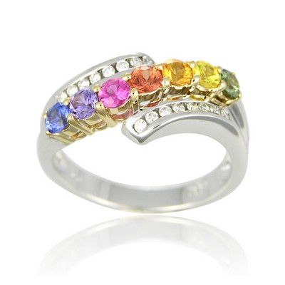 Rainbow Sapphire Collection - R1118