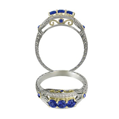 Rainbow Sapphire Collection - R7065BL