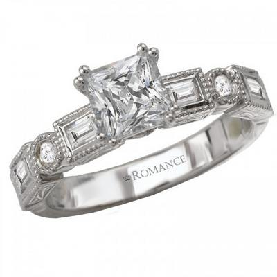 The Romance Diamond - Rings