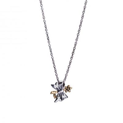 Waxing Poetic - Decorus Flower Necklace