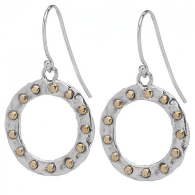 Waxing Poetic - Eternal Anthem Circle Earring