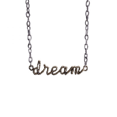 Waxing Poetic - Scribbler Dream Necklace